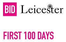 First 100 days…