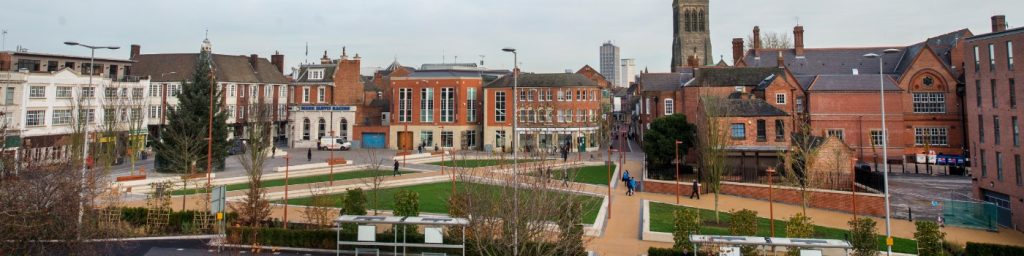 Jubilee Square, Leicester