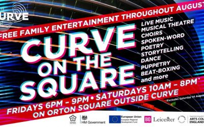 BID Leicester partner with Curve on the Square